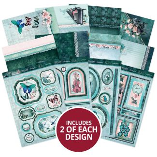 Teal Treasures - A Fabulous Finishes - Topper Collection