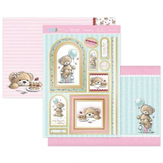 Teddy Loves... Birthday Treats Luxury Topper Set