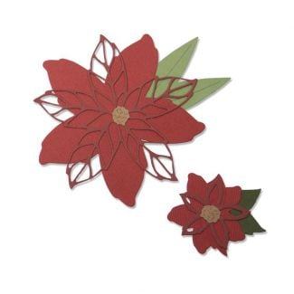 Sizzix Thinlits Die Set - Poinsettia by Lisa Jones