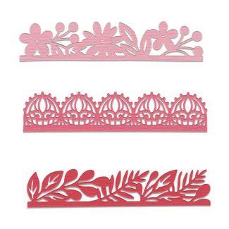 Sizzix Thinlits Die Set - Decorative Edges by Katelyn Lizardi