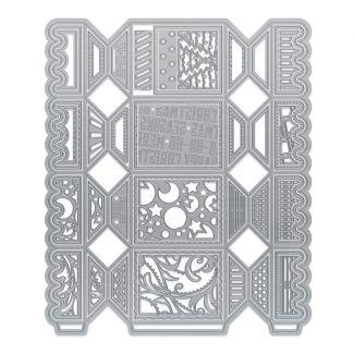 Deco-Edged Square Cracker Die Set