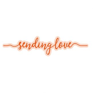 Sending Love Strip Die