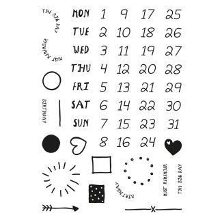 Journalling Diary Stamp Set x 22 stamps