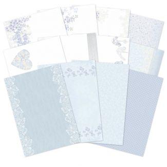 True Blue Luxury Card Inserts