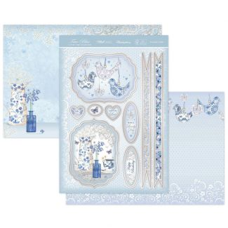 Porcelain Petals Luxury Topper Set