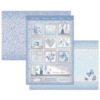 Simply Blue Luxury Topper Set