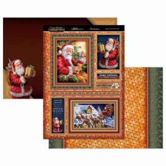 Happy Christmas Mirri Magic Topper Set