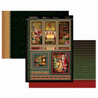 Not A Creature was Stirring Mirri Magic Topper Set