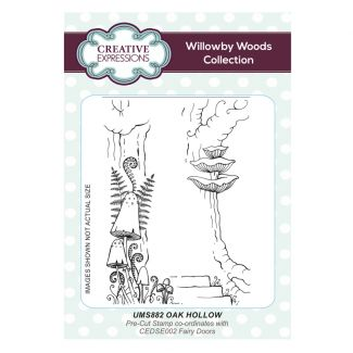 Oak Hollow A6 Pre Cut Rubber Stamp