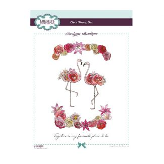 Designer Boutique Collection - Perfect Partners A5 Clear Stamp