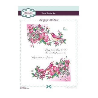 Designer Boutique Collection - Nightingale's Song A5 Clear Stamp