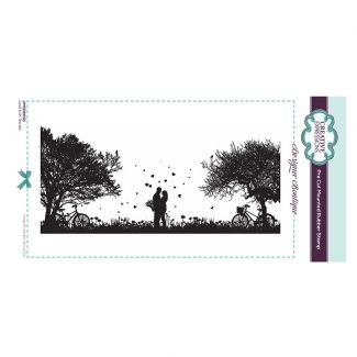 Designer Boutique Collection - Love is in the Air DL Pre Cut Rubber Stamp