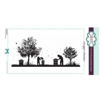 Designer Boutique Collection - As Sweet As Honey DL Pre Cut Rubber Stamp