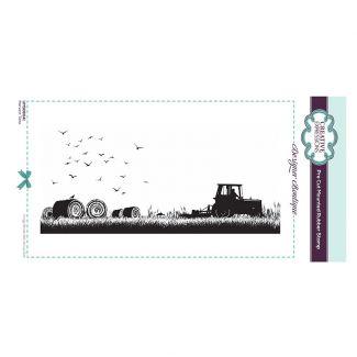Designer Boutique Collection - Harvest Time DL Pre Cut Rubber Stamp