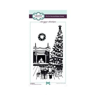 Designer Boutique The Night Before Christmas DL Pre Cut Rubber Stamp