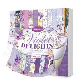 "Violet Delights 6""x6"" Paper Pad"