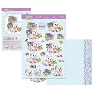 Springtime Wishes Deco-Large - Puppy's Playtime