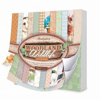 "Woodland Wildlife 6"" x 6"" Paper Pad"