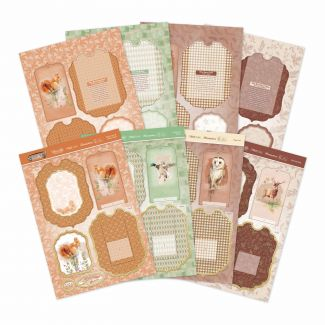 Woodland Wildlife Easel Reveal Concept Card Collection