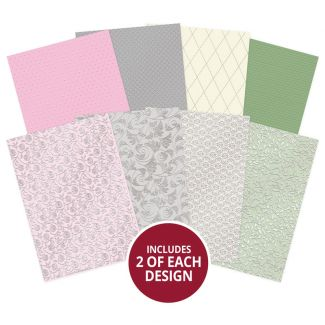 Touch of Colour Adorable Scorable Foiled Cardstock
