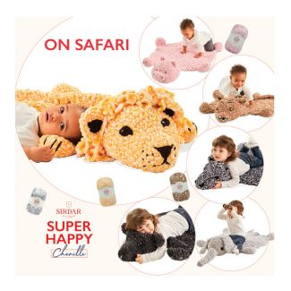 Super Happy Chenille - On Safari Book