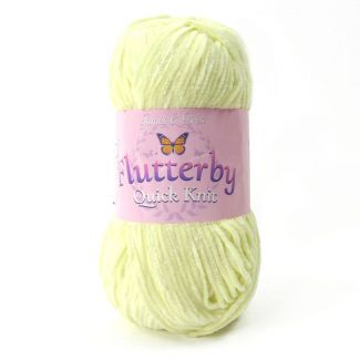 Flutterby Quick Knit - Yellow