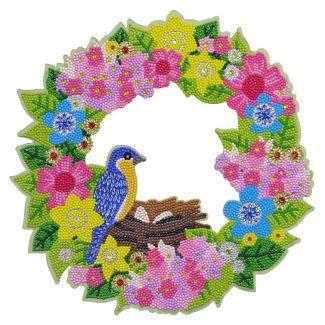 Crystal Art Wreath - Spring (30cm)