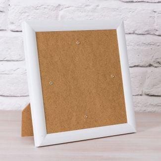 Crystal Art Card Frame - White