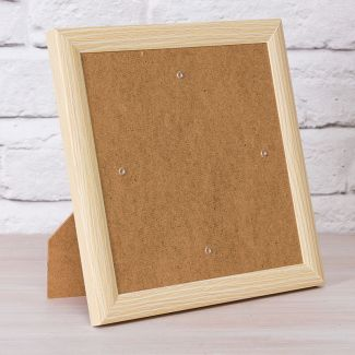 Crystal Art Card Frame - Wood Effect