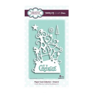 Creative Expressions Paper Cuts Cheers! Craft Die