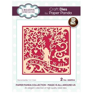 Creative Expressions Paper Panda Magic Is All Around Us Craft Die
