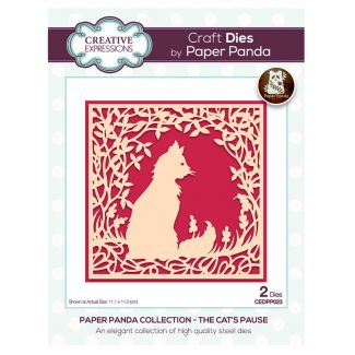 Creative Expressions Paper Panda The Cat's Pause Craft Die