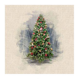 Chatham Glyn Panel - Christmas Tree
