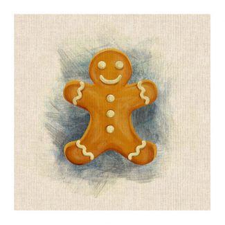 Chatham Glyn Panel - Gingerbread man