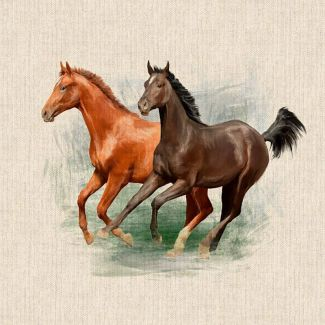 Chatham Glyn Panel - Horses