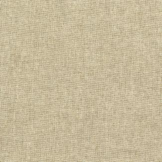Chatham Glyn Linen Sparkle - Trailing Flowers Mono (1/2 mtr)