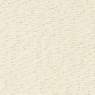 Chatham Glyn Linen Sparkle - Gold on Off-White (1/2 mtr)