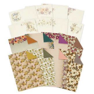 Bronze Blossoms Inserts & Papers