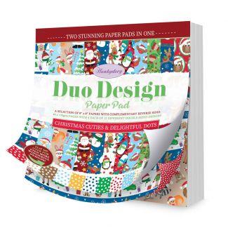 Duo Design Paper Pad - Gilded Inks & Glitteresque