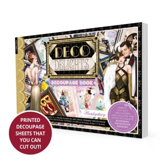 Deco Delights Decoupage Book