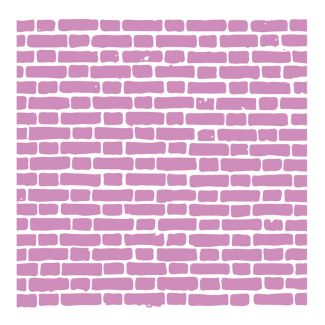 "Crafter's Companion - 6""x 6"" Embossing Folder - Brick Layers"