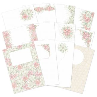 Forever Florals - Poinsettia Luxury Card Inserts