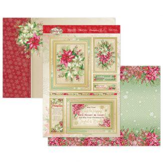 Festive Blooms Luxury Topper Set
