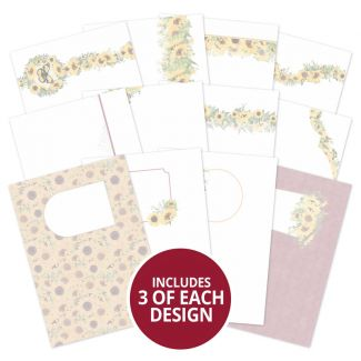 Forever Florals - Sunflower Luxury Card Inserts