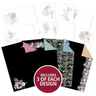Floral Elegance Luxury Card Inserts & Papers