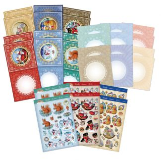 Rocking Snow Globes Concept Card Collection