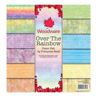 "Woodware Francoise Read Over The Rainbow 8"" x 8"" Paper Pad"