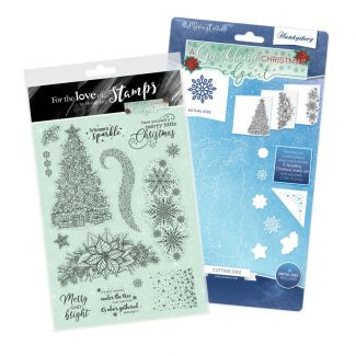 A Sparkling Christmas - Edge It Stamp and Die Bundle