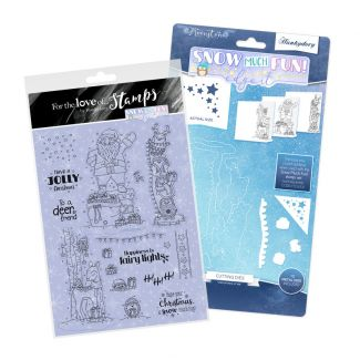 Snow Much Fun! - Edge It Stamp and  Die Bundle