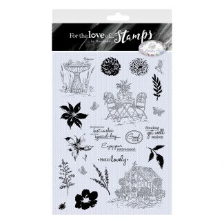 For the Love of Stamps - An Artist's Garden A4 Stamp Collection